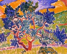 André Derain, Mountains at Collioure (detail), 1905,