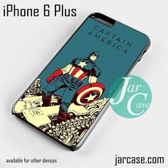 Captain America a Comic Cover Phone case for iPhone 6 Plus and other iPhone devices