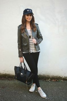Casual Outfit | Baldwin KC Hat | Converse