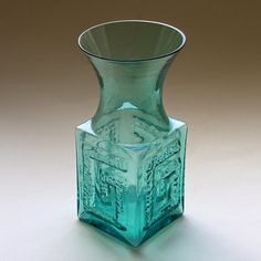 Frank Thrower Glass Designs: 1960s dartington glass