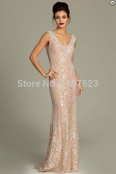 Encontrar Más Vestidos de Gala Información acerca de Vestido De Renda  encaje Sexy Mermaid Prom vestidos a1c5c74ce5c