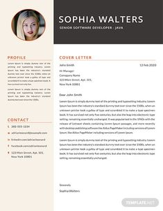 Your resume is one of your best marketing tools. The goal of your resume is to tell your individual story in a compelling way that drives prospective employers to want to meet you. Resume Design Template, Cv Template, Resume Templates, Cover Letter Template, Letter Templates, Web Developer Resume, Resume Summary, Perfect Resume, You Better Work
