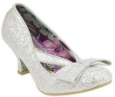 Womens silver heels from Schuh - £69 at ClothingByColour.com