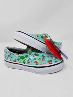 69d0e81059 VANS CLASSIC SLIP ON TOY STORY ANDY TOYS CASUAL ATHLETIC SKATE KIDS SIZE  2.5  fashion  clothing  shoes  accessories  kidsclothingshoesaccs   unisexshoes ...