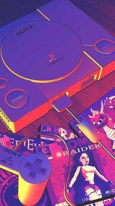 de Jogos para celular - Playstation - Ideas of Playstation - - Pap. Purple Aesthetic, Retro Aesthetic, Aesthetic Anime, Retro Wallpaper, Aesthetic Iphone Wallpaper, Aesthetic Wallpapers, Vaporwave Wallpaper, Gaming Wallpapers, Cute Wallpapers