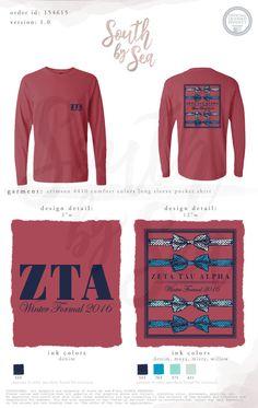 South by Sea, Sorority Shirt Designs, Tee Shirt Designs, Sorority Shirts, Tee Shirts, Sorority Paddles, Sorority Life, Work Shirts, Custom Clothing Design, Custom Clothes