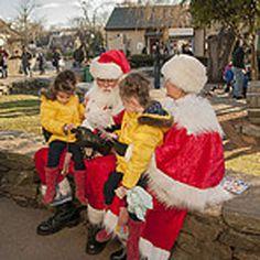 Black Friday with Santa and Mrs Claus Friday, November 28 - Saturday, November 29, 2014 Olde Mistick Village http://oldemistickvillage.com/event.aspx?id=134
