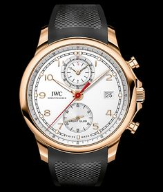 IWC Portgugieser Yacht Club Chronograph 18K Rose Gold Automatic