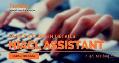 NIACL Assistant Mock Test or NIACL assistant test series than it's improve your time management as well as accuracy factors. Online Mock Test, Time Management, Improve Yourself