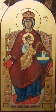 Vladimir Guk's photos – 265 photos | VK Orthodox Catholic, Roman Catholic, Byzantine Icons, Byzantine Art, Religious Icons, Religious Art, Jesus E Maria, Religious Paintings, Angel Pictures