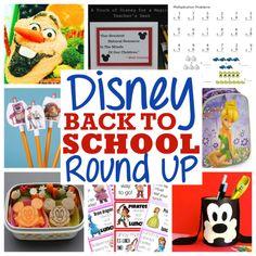 Disney Back to School Round Up on Disnify.com.