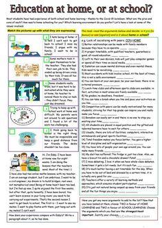 Essay Writing Skills, English Writing Skills, English Reading, English Lessons, Teaching English, Ielts Reading, Reading Comprehension Worksheets, Persuasive Writing, English Vocabulary Words