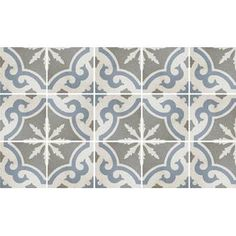Highstyle Stone & Tile Cementine Retro x Porcelain Field Tile in Gray Stone Mosaic Tile, Marble Mosaic, Mosaic Glass, Kitchen Hardware Trends, Patchwork Tiles, Craftsman Interior, Best Floor Tiles, Glass Subway Tile, Wall Patterns