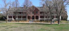 File:Fort Robinson Comanche Hall from W.jpg - Wikimedia Commons