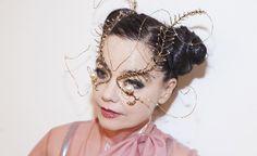 Bjork will premiere her video work Notget at Vivid Sydney Photograph: Santiago Felipe Head Accessories, Coincidences, Headgear, Headdress, Virtual Reality, Costume Design, Masquerade, Wearable Art, Mcqueen