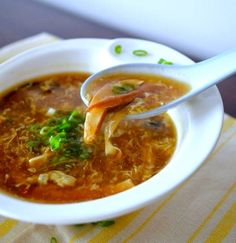 Hot and Sour Soup Recipe   Food Recipes