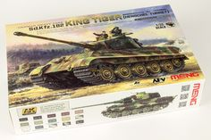 The Modelling News: Andy finishes Meng Models scale King Tiger Henschel Turret with AK shades. The Modelling News, Metal Barrel, Detailed Paintings, Arms Race, Tiger Ii, Tiger Tank, Camo Colors, Model Tanks, Water Slides