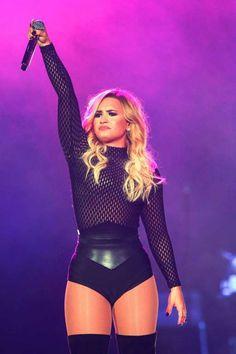 Demi Lovato performs in concert at Palacio de los Deportes in Mexico City on Oct. 16, 2016.