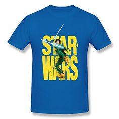CAIZEXI Men's Star Wars Men's Simplest Logo T-Shirt