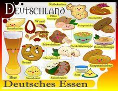 Man kann auch ein #Quiz über bestimmte #Gerichte wie die aus #Deutschland veranstalten
