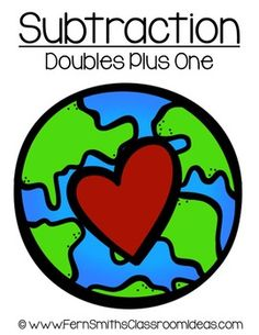 Quick and Easy to Make Plus Zero in Addition Center Game for Earth Day ~ Add a little Social Studies and Science to your Math Lessons! This math r. What Can Be Recycled, Addition Activities, Love Math, Teaching Activities, Matching Games, Earth Science, Interactive Notebooks, Earth Day, Math Lessons