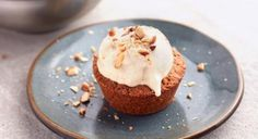 Almond Butter Cookie Cups With Banana 'Ice Cream' Recipe www.theteelieblog.com Why choose between cookies and ice cream when you can have both? This new take on a sundae gives you the best of both... #thrivemarket