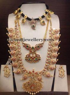 Light Weight Mango Mala Choker | Jewellery Designs