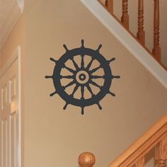 Wall Decal Nautical Ships Wheel Vinyl Wall Art Graphic Sticker on Etsy, $28.50