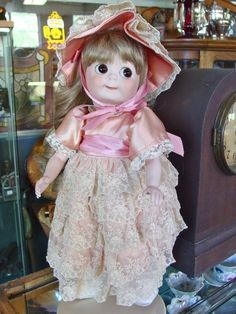 Artist's Reproduction J.D.K. 221 Googly Eye Doll from ~ BAYBERRY'S ANTIQUE DOLLS ~ found @Doll Shops United http://www.dollshopsunited.com/stores/bayberrys/items/1298322/Artists-Reproduction-JDK-221-Googly-Eye-Doll #dollshopsunited