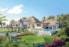 Kittitian Hill Resort, Bensley Architects French Colonial, British Colonial, Tropical Homes, Hills Resort, Colonial Architecture, West Indies, Cottages, Acre, Architects