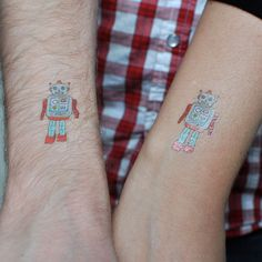 Tattly™ Designy Temporary Tattoos — Robot