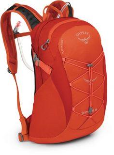 Osprey Packs Women's Skimmer 16 Hydration Pack, Coral Orange -- You can get additional details at the image link. Hiking Backpack, Backpack Bags, Osprey Daylite, Hiking Essentials, Bare Essentials, Osprey Packs, Hydration Pack, Backpack Online, Coral Orange