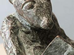 Ratón de biblioteca - escultura en bronce - bronze sculpture