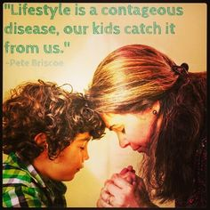 """""""What are you teaching your kids by the way you live your life?"""" Find out more about """"The Two Sides of Modeling"""" from Telling the Truth with Pete Briscoe. Words Of Strength, Counseling Quotes, All About Mom, Mindful Parenting, Daughters Of The King, Unique Words, Marriage And Family, Spiritual Wisdom, Love People"""