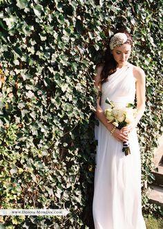 Stunning wedding dresses from @donnamorgannyc