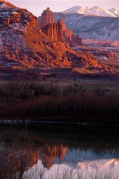 Fisher Towers in Utah