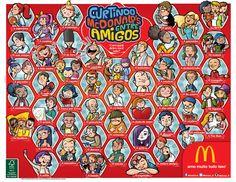 Lâminas de bandeja do McDonald's « Hiro