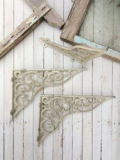 Shelving Brackets Shelf Decor Iron Brackets Shelf by CamillaCotton