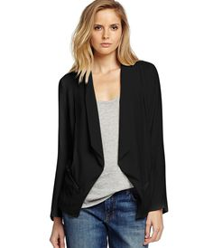 Long Sleeve Soft Jacket - Sweaters & Jackets - Womens | Michael Stars