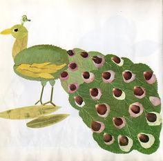 Animales con hojas   Rayito de Colores