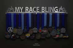 My Race Bling with stars