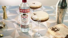 Here's how to make an espresso martini at home with Smirnoff #paidpartnership