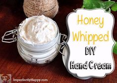Today I bring you my recipe for Whipped Honey DIY Hand Cream. There are only 4…
