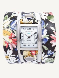 Pin for Later: Why NOT Get an Easter Watch?  La Mer Limited Edition Black Magnolia Wrap Watch ($92)
