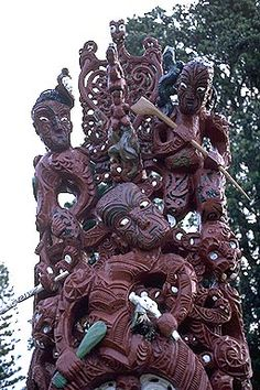 Maori Carving photo