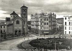 Plaza Primo Rivera à Tétouan en 1950
