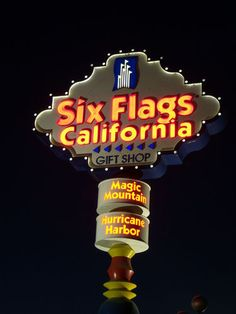 Six Flags Magic Mountain, Valencia, Santa Clarita, California