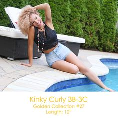 #ONYCHair is welcoming the warm weather back!  Have some fun in the sun like this #ONYCBeauty with her Kinky Curly 3B3C #hair from our Golden Collection.  Shop USA Now>>> ONYCHair.com Shop UK Now>>> ONYCHair.uk