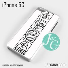 Avatar Logo Phone case for iPhone 5C and other iPhone devices