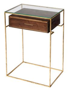 Floating Drawer Side Table from Deringhall Price on Request
